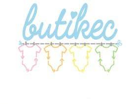 Nro 95 kilpailuun LOGO for a BABY 2ND HAND SHOP named BUTIKEC käyttäjältä toriemmanuele