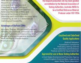 #5 cho Make me a information flyer regarding our new Certified Reference Material bởi TheQueenBee3