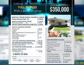#33 for Real Estate Investing Pro-Forma Flyer by kashmirmzd60