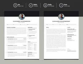 #30 untuk Resume Design oleh FALL3N0005000