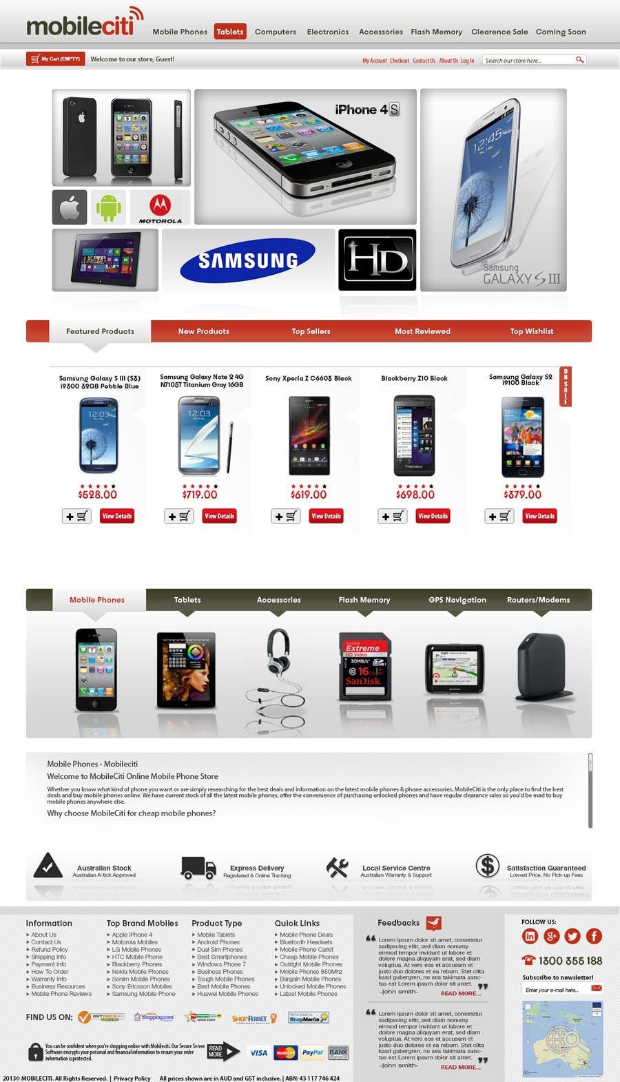 #11 for Website Design for Magento by muresanalexandru