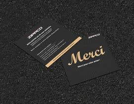 #46 para Create/Design a Thank You card for customers purchase por Designopinion