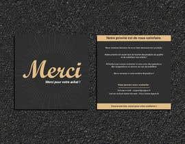 #70 para Create/Design a Thank You card for customers purchase por Designopinion