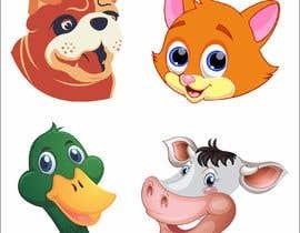 osi59269522e3d85 tarafından Illustration of four animals için no 32
