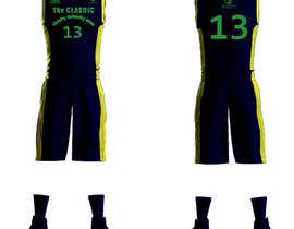#13 для Design a basketball team uniform от alaasaleh6