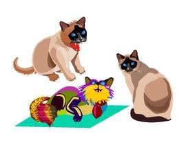 sudhirmp tarafından We Need Two 2D Cat Characters For A New Streaming Series için no 44