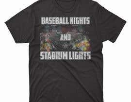 #27 untuk baseball tshirt design contest oleh moisanvictores