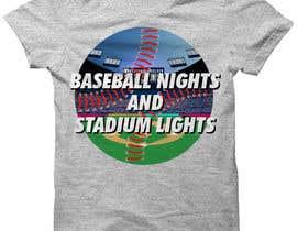 #10 untuk baseball tshirt design contest oleh dnerox
