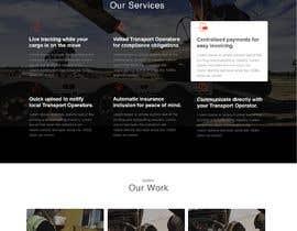 Nro 19 kilpailuun Design Freightlancer.com home pages käyttäjältä dipankarmaikap77