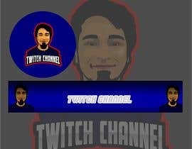hmberdesign tarafından Build me a gaming profile logo+banner for twitch & youtube için no 5