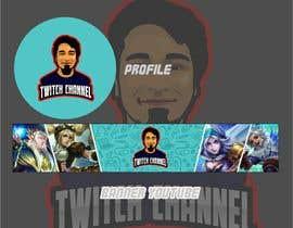 hmberdesign tarafından Build me a gaming profile logo+banner for twitch & youtube için no 6