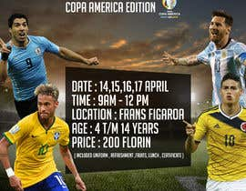 Nro 4 kilpailuun design a soccer flyer käyttäjältä RicBrooks