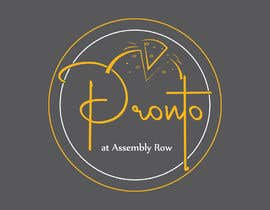 #127 for logo in bright yello black and white only.   pizza / sandwich shop . name is Pronto at Assembly Row by arvinriaz7