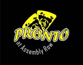 #135 for logo in bright yello black and white only.   pizza / sandwich shop . name is Pronto at Assembly Row by irfanalfin452