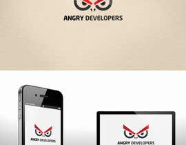 nº 10 pour Logo Design for Angry Developers par GoranV7