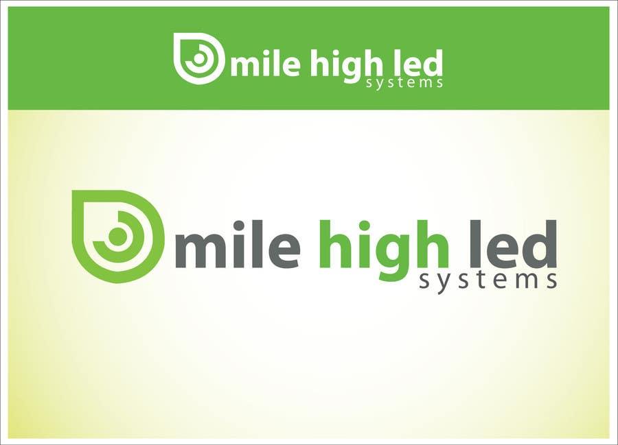 Inscrição nº                                         90                                      do Concurso para                                         Logo Design for Mile High LED Systems