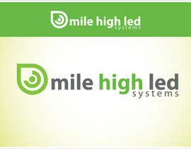 nº 90 pour Logo Design for Mile High LED Systems par mdmonirhosencit