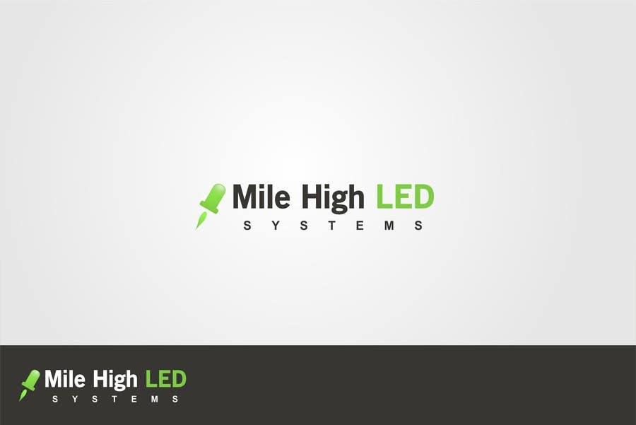 Inscrição nº                                         95                                      do Concurso para                                         Logo Design for Mile High LED Systems