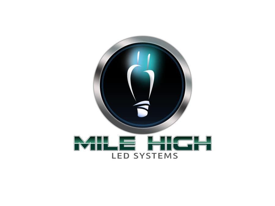 Inscrição nº                                         66                                      do Concurso para                                         Logo Design for Mile High LED Systems