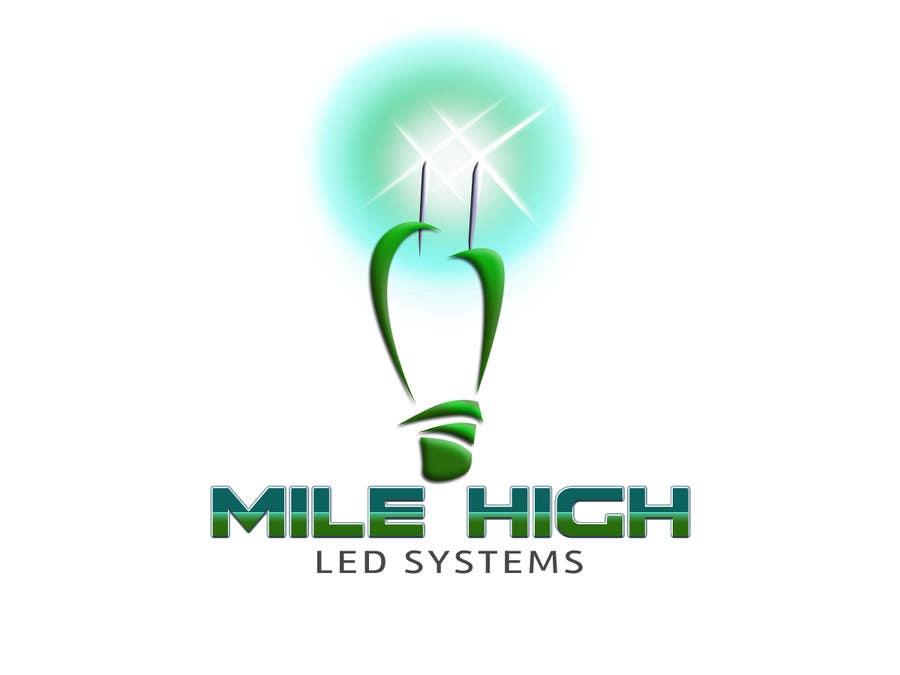 Inscrição nº                                         67                                      do Concurso para                                         Logo Design for Mile High LED Systems