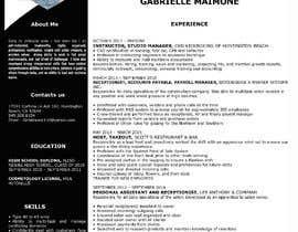 #232 untuk Professional resume design oleh mosarrof0001