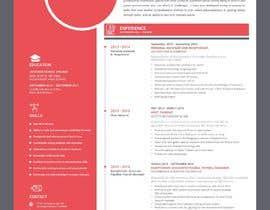 #225 untuk Professional resume design oleh webcreadia
