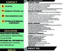 #230 untuk Professional resume design oleh immoriamislam107