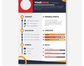 #234 untuk Professional resume design oleh Designercob46