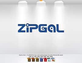 #61 dla ZipGal Logo przez kawshair