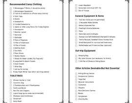 #2 dla Clothing & Equipment List przez shariful297