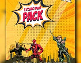 #87 dla Comic Book Package Cover Design przez zaeemiqbal