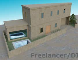 #14 dla I need a 3D model / Design Render of an Old House Facade from pdf file drawing przez anto2178