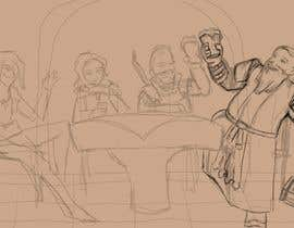 #11 dla Draw an image of D&D Characters in a tavern przez ekosugeng15