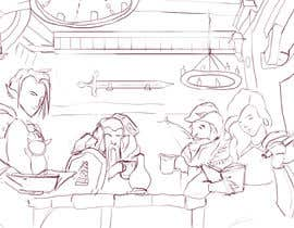 #25 dla Draw an image of D&D Characters in a tavern przez yagizerturk