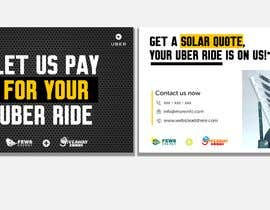 "#12 dla Postcard for ""Let Us Pay for Your Uber Ride"" przez Suzenchong"