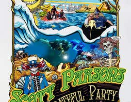 #73 for Scott Parsons Grateful Party by dorotasosnowka