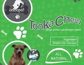 #23 dla Dog Treat Label ; Tonka Chew przez Graphic94