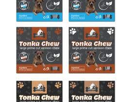 #8 dla Dog Treat Label ; Tonka Chew przez salmagd1999