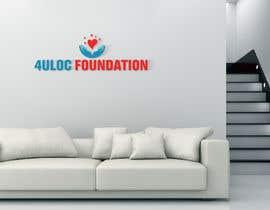 """#448 dla Design a logo """"4ULOC Foundation"""" przez slavlusheikh"""