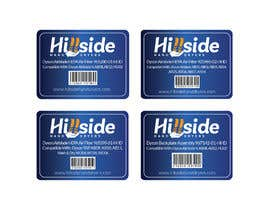 #25 dla Design us product labels with logo text and barcodes. przez akmalhossen