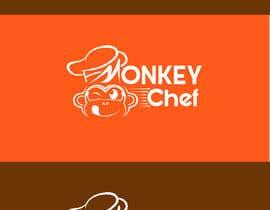 #154 dla Logo design / Diseño de logo    Monkey Chef przez presti81