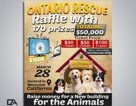 #83 dla Create a Raffle Banner for Animal Rescue przez creative24art