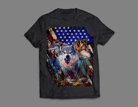 #128 dla Professional Wolf Shirt Design (Photoshop) przez arafatrahman913