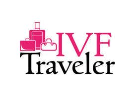#44 para Logo Design for IVF Traveler de Rcheng91