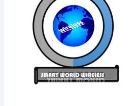 #15 para I want a new logo for my company. My company name is Smart World Wireless.  New ideas and concepts that stand out.  I have a few images that i want ideas considered and incorporated.  Example like the picture of the world made of app icons of course a lit de sufyan5081025