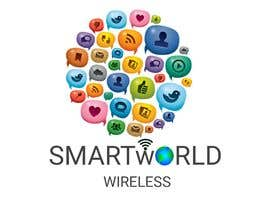 #18 para I want a new logo for my company. My company name is Smart World Wireless.  New ideas and concepts that stand out.  I have a few images that i want ideas considered and incorporated.  Example like the picture of the world made of app icons of course a lit de DeepakAgrawall