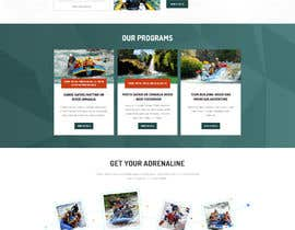 #20 para HOME PAGE REDESIGN - Canoe/safari/rafting on river website de Shouryac