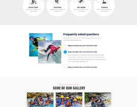#31 para HOME PAGE REDESIGN - Canoe/safari/rafting on river website de Tonisaha