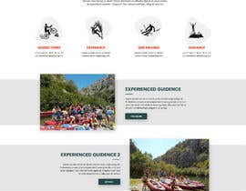 #21 para HOME PAGE REDESIGN - Canoe/safari/rafting on river website de danielfodor