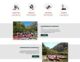 #24 para HOME PAGE REDESIGN - Canoe/safari/rafting on river website de danielfodor